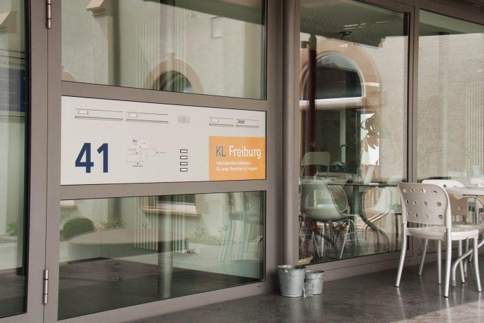 Eingangsbereich KL Freiburg