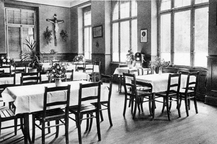 KL Freiburg Speisesaal Historie