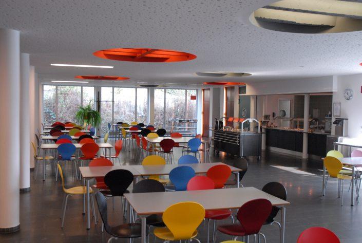 Speisesaal im KL Freiburg