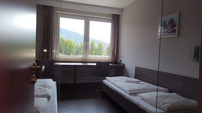 Zimmer im KL Freiburg